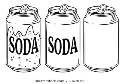 Soft drinks clipart black and white 3 » Clipart Portal.
