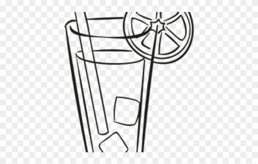 Glasses Clipart Cold Drink.