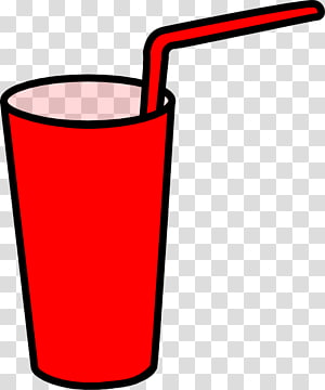 DRINKS P, pink disposable cup with straw transparent background PNG.