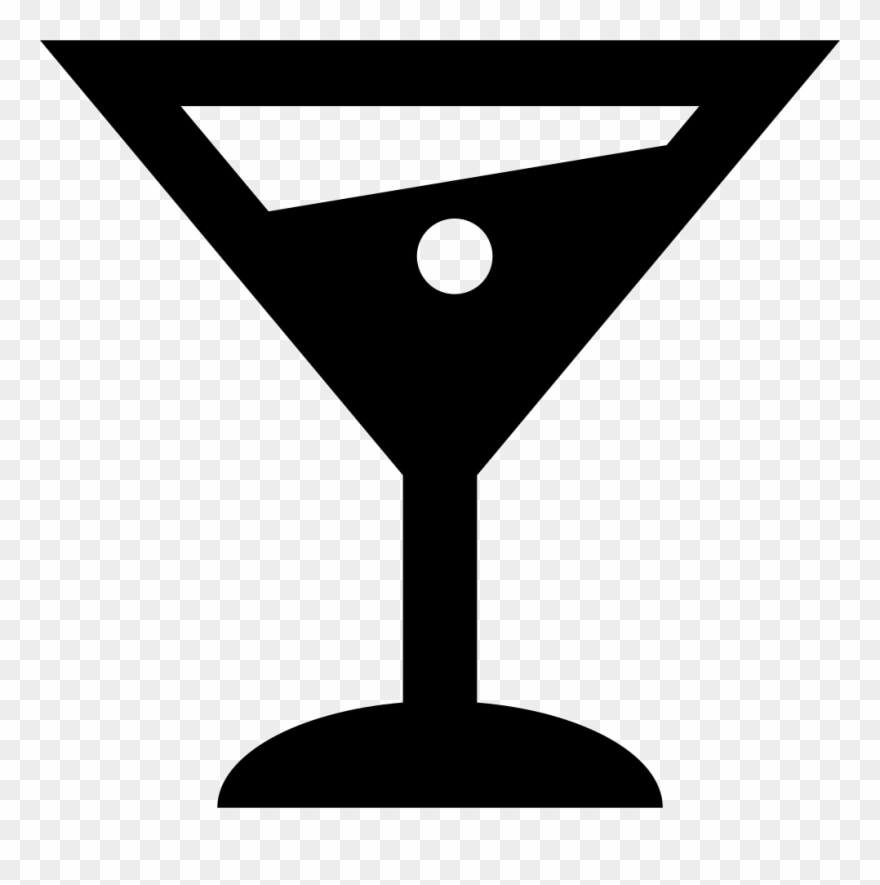 Martini Alcoholic Drink Glass Comments.