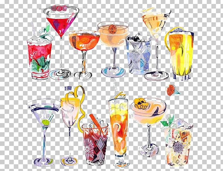 Cocktail Drawing Art Drink Illustration PNG, Clipart.