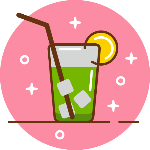 Alcohol, club, cocktail, drink, glass, party icon.