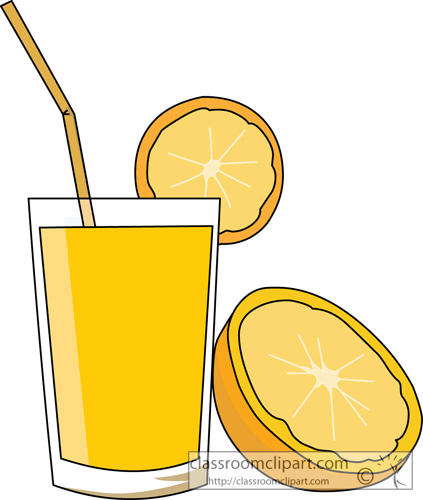 Juice Drink Clipart.