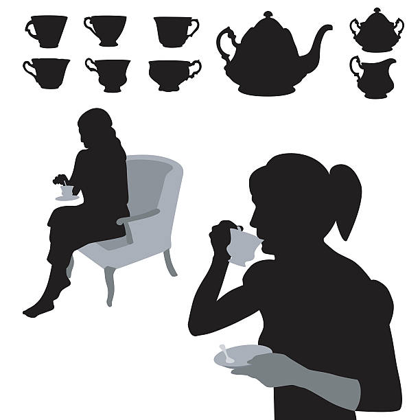 Drink Me Tea Cup Clip Art, Vector Images & Illustrations.
