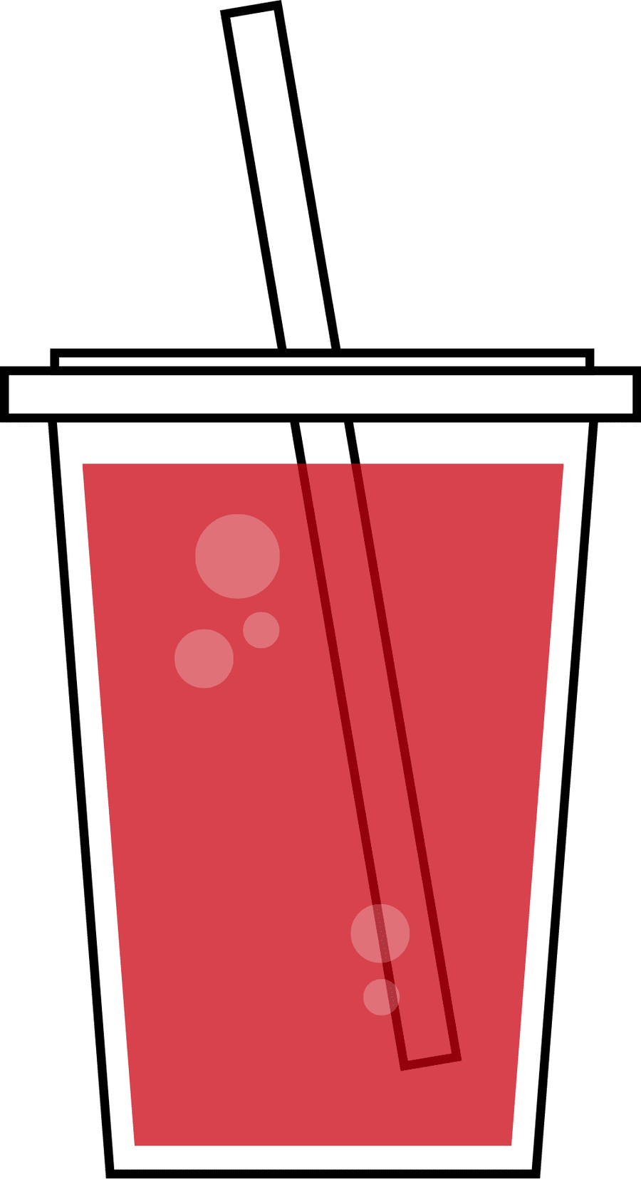 Red drink Clipart.