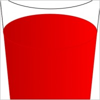 Glass Of Juice Clipart.