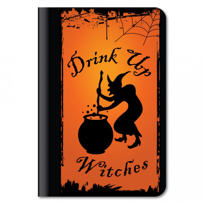 Drink Up Witches Halloween iPad Mini Case.