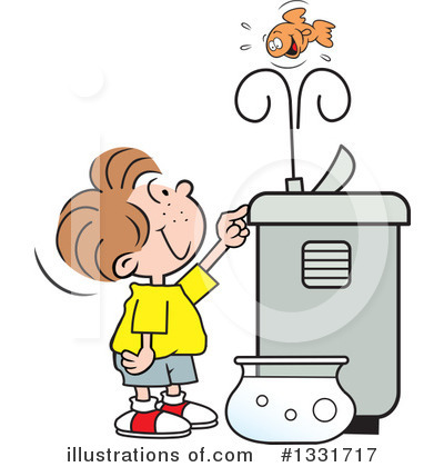 Children Drinking Water From Water Fountain Clipart.