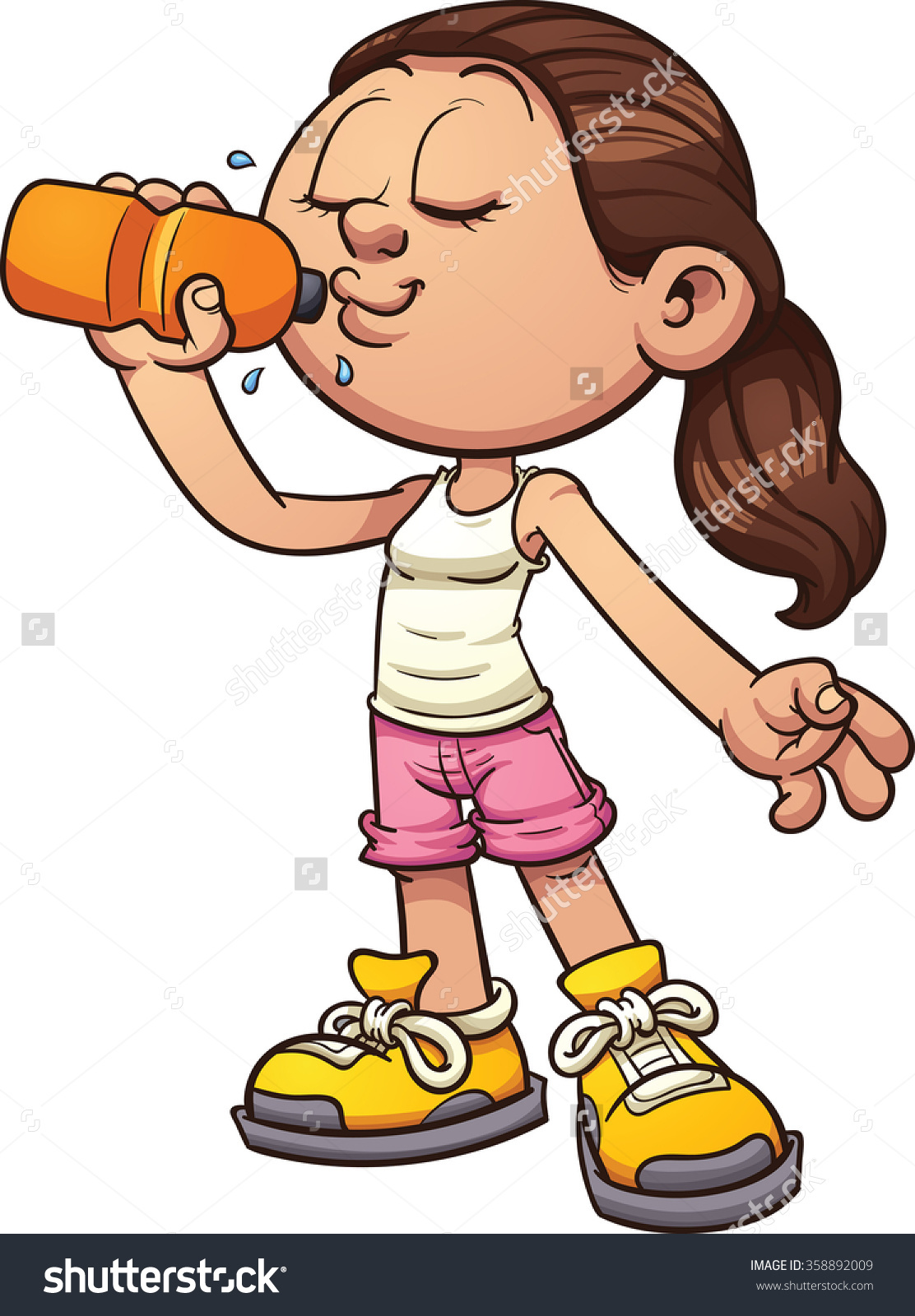 Water and alcohol clipart.
