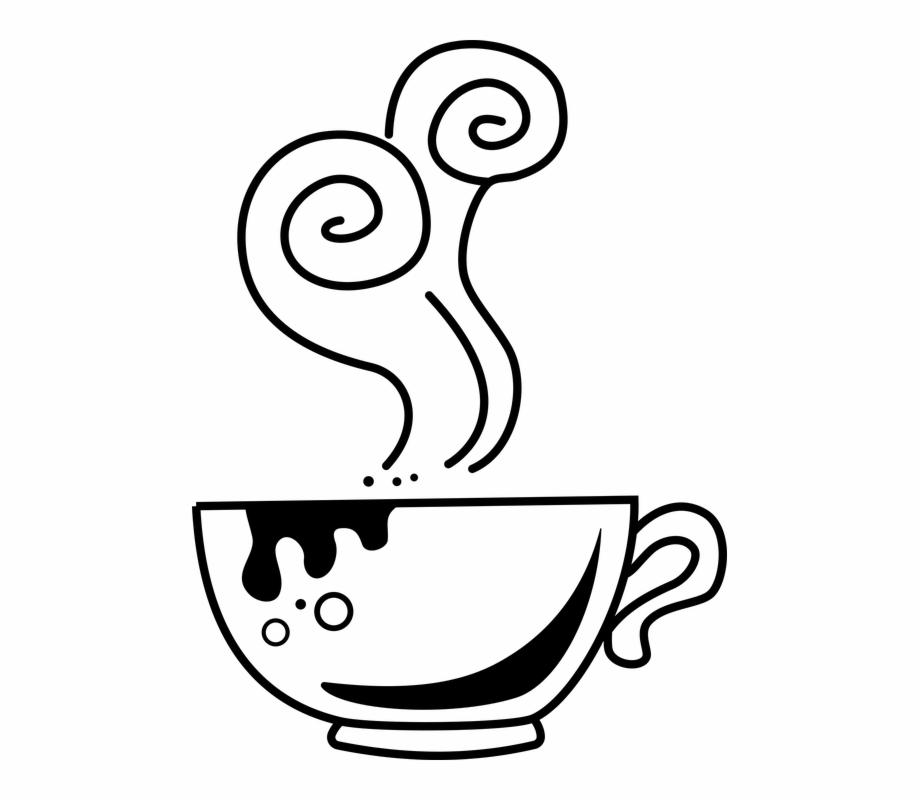 Beverage, Caffeine, Coffee, Cup, Doodle, Drink.