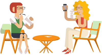28+ Collection of Drinking Coffee Clipart Png.
