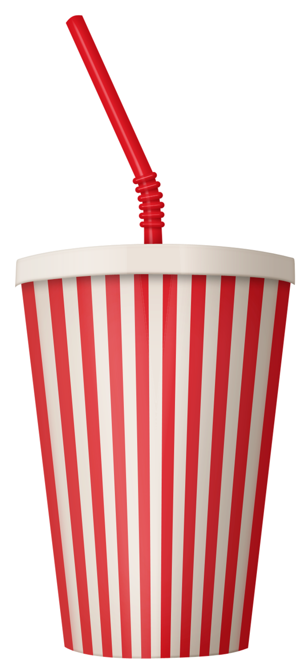 Plastic Drink Cup PNG Vector Clipart Image.