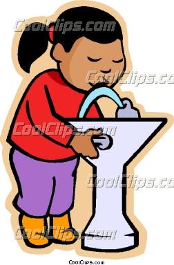 Drinking Fountain Clipart.