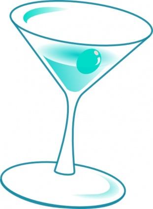 Drink Glass Clip Art, Vector Drink Glass.