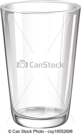 EPS Vectors of A drinking glass.