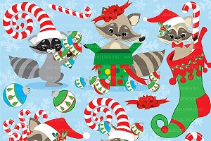 Raccoon clip art Photos, Graphics, Fonts, Themes, Templates.