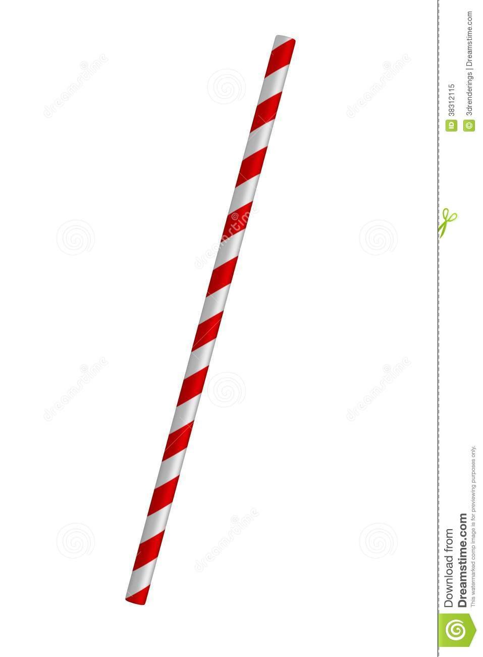 Drinking straws clipart.
