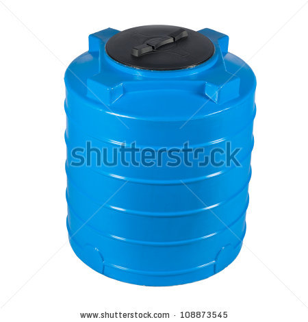 Plastic Water Tank Stock Photos, Royalty.