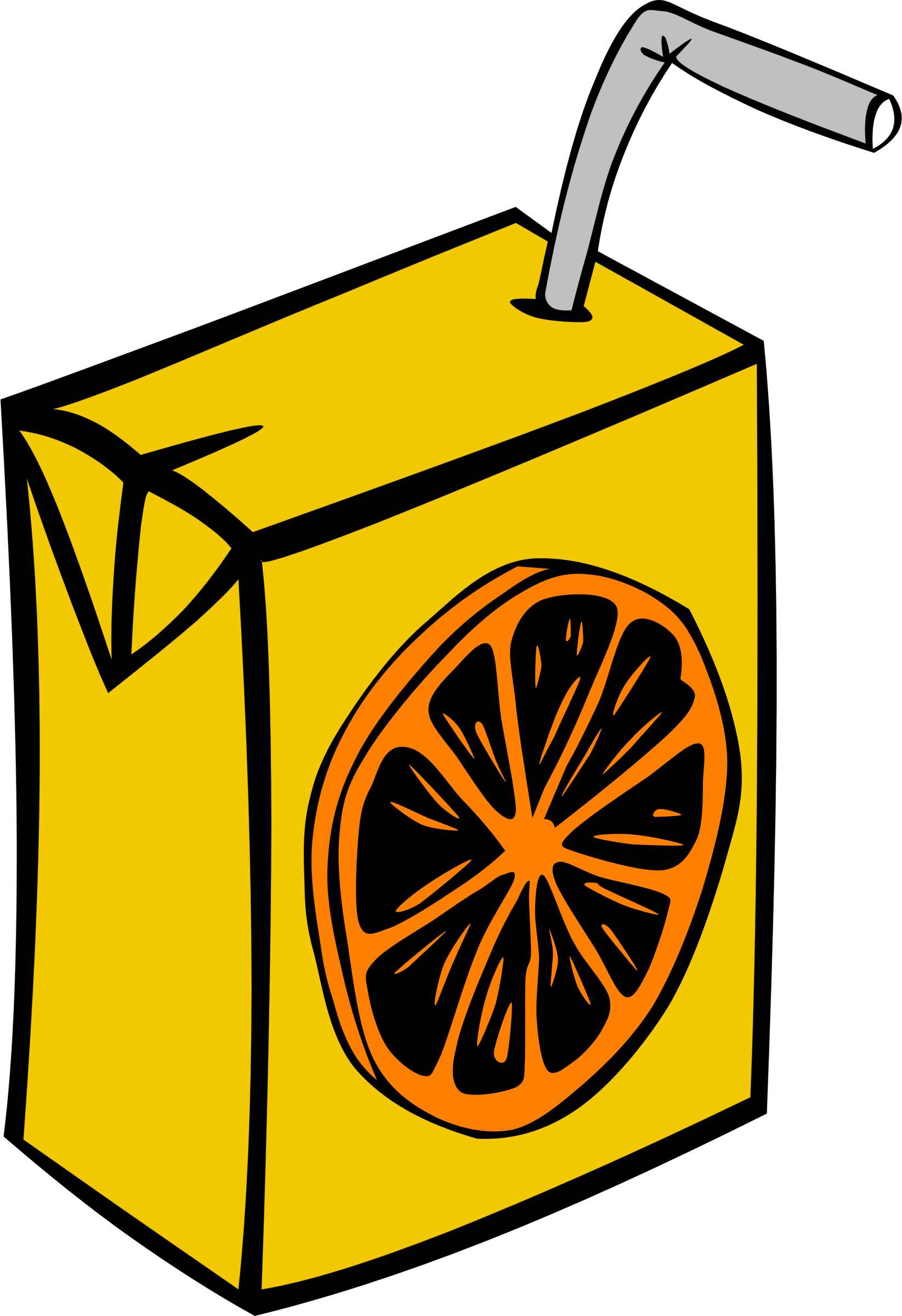 Clipart fast food drinks juice orange.