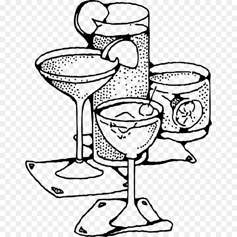 Black And White Cocktails Png & Free Black And White.