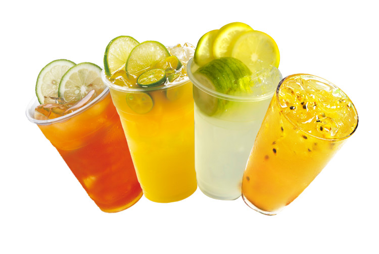 Free PNG summer drinks.