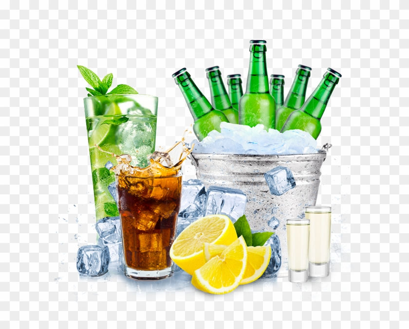Alcohol Drinks Png.