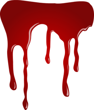 Blood Drip Clipart.