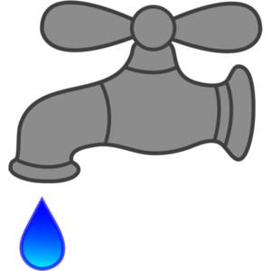 Clipart faucet drip.
