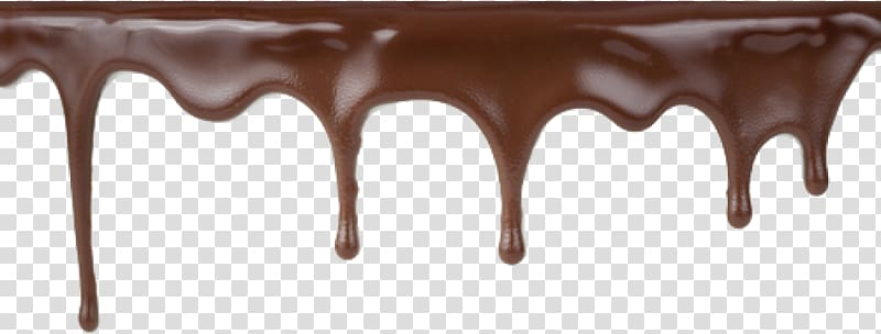 Dripping cake Hot chocolate, chocolate transparent background PNG.