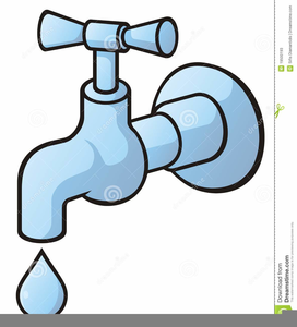 Free Dripping Faucet Clipart.