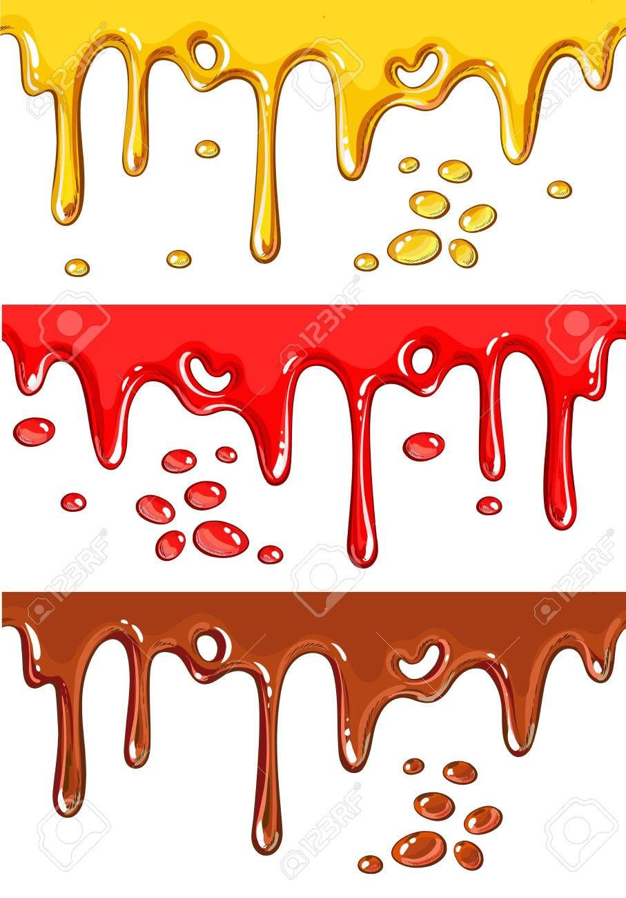 Image result for how to draw dripping paint.