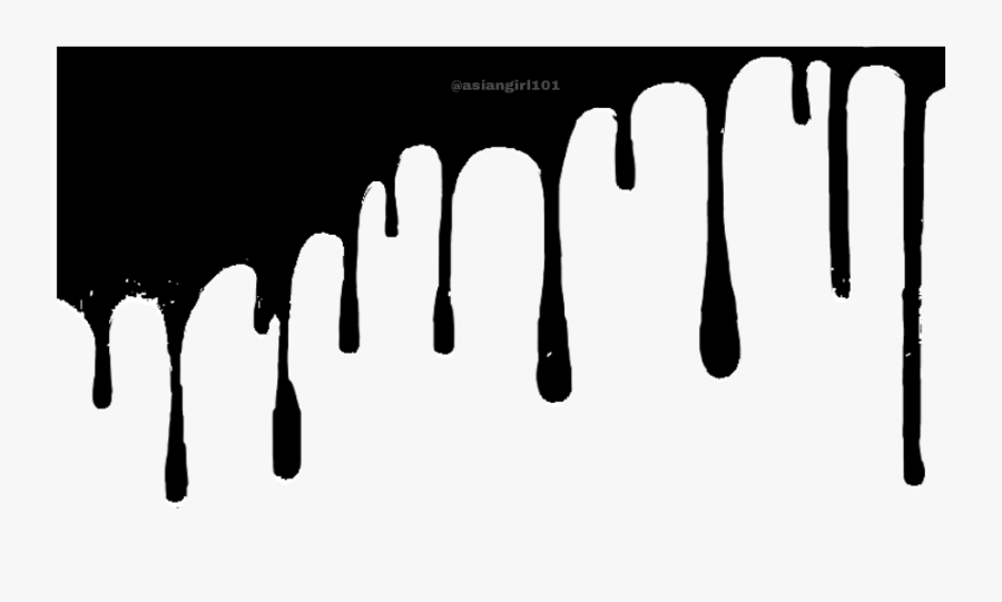 Transparent Dripping Slime Clipart.