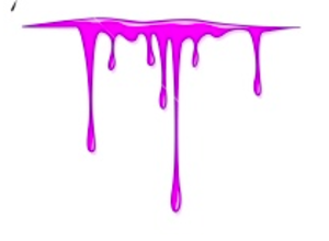 Dripping slime clipart 7.