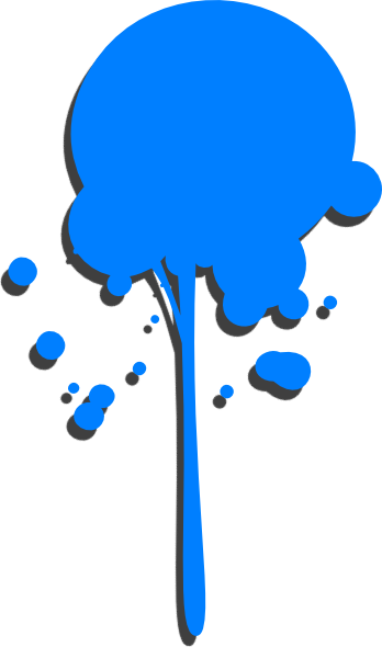 Dripping Paint Clipart.