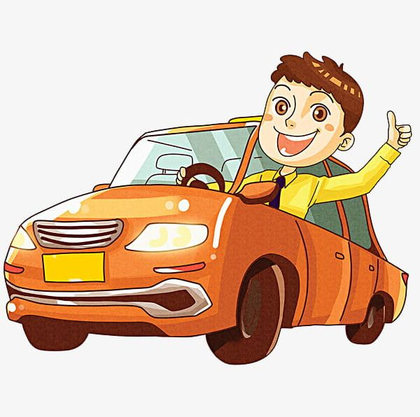 Driving Boy PNG, Clipart, A Car, Boy Clipart, Car, Cartoon.