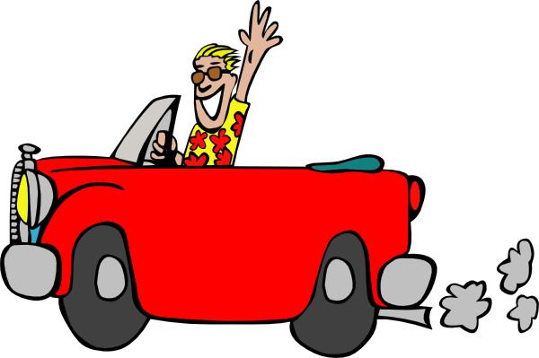 Teenage Driver Clipart.