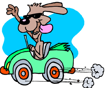 Driving Clipart.