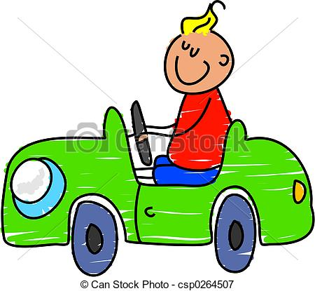 Stock Illustrations of toy car.