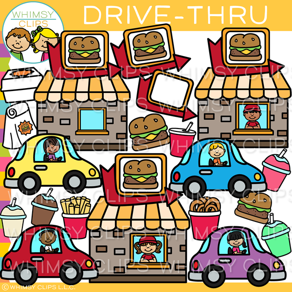 Fast Food Drive.