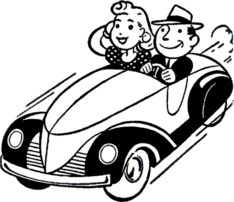 Classic Car Graphics.