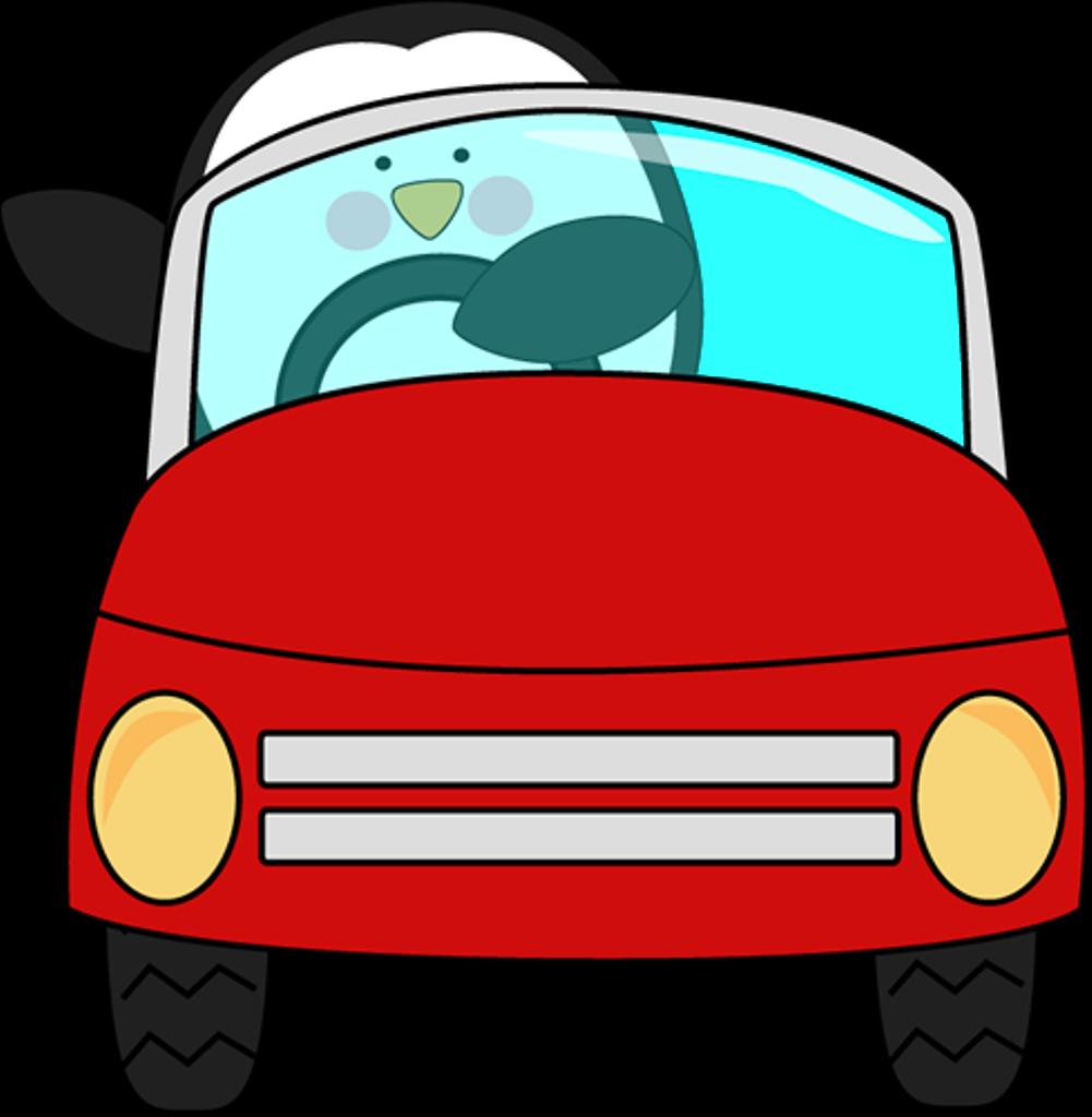 Drive A Car Clipart.