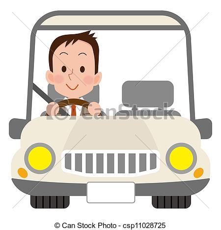 Car Driver Clipart.