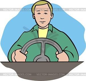 Driver Clip Art.