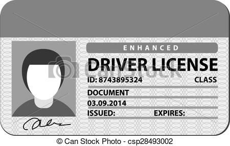 License clip art.