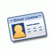 Clipart drivers license.