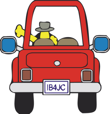 Car Driving Away Clipart.