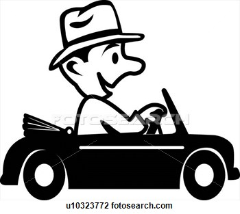 Driving 20clipart.