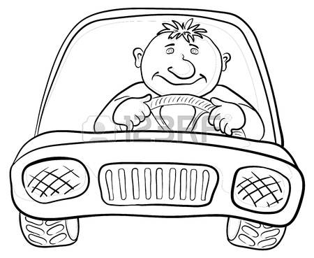 Driver clipart black and white 8 » Clipart Station.