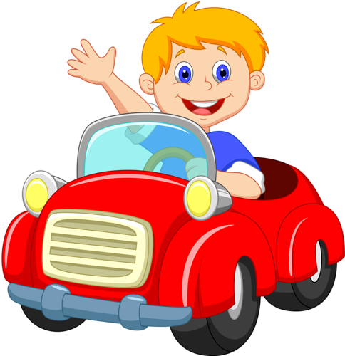 Driving clipart child, Driving child Transparent FREE for.