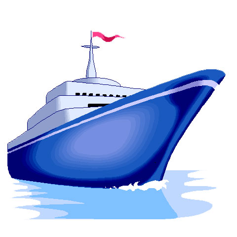 Driving cruise ship clipart #16